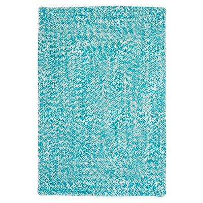 Hawkins Turquoise Indoor/Outdoor Area Rug Rug Size: 8 x 11