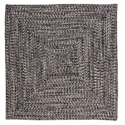 Hawkins Blacktop Indoor/Outdoor Area Rug Rug Size: Square 8'