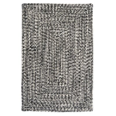 Rockland Blacktop Indoor/Outdoor Area Rug Rug Size: 2 x 3