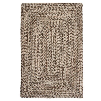 Beltran Weathered Brown Rug Rug Size: 8 x 11
