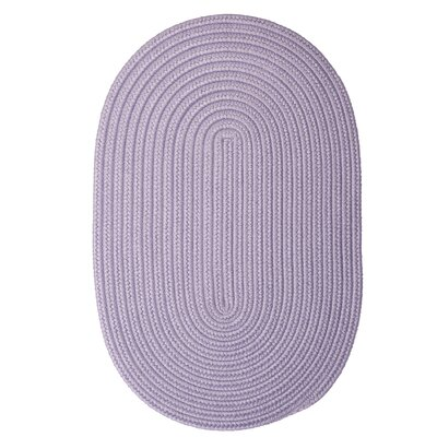 Rainsburg Amethyst Outdoor Area Rug Rug Size: Oval 5 x 8