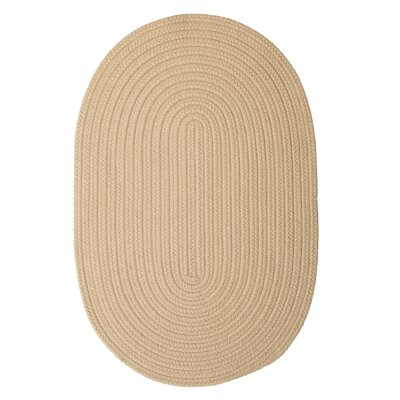 Rainsburg Linen Outdoor Area Rug Rug Size: Oval 5 x 8