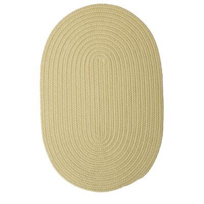 Mcintyre Celery Outdoor Area Rug Rug Size: Oval 2 x 3