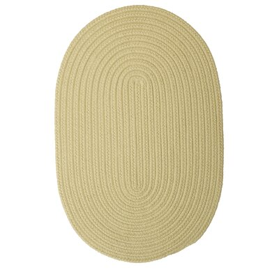 Mcintyre Celery Outdoor Area Rug Rug Size: Oval 7 x 9