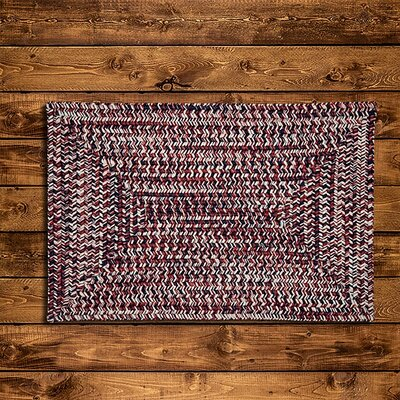 Russett Red Area Rug Rug Size: 8 x 11