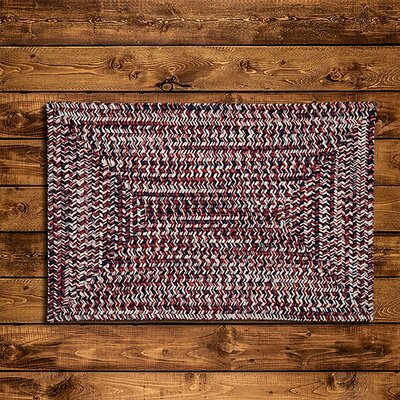 Russett Red Area Rug Rug Size: 10 x 13
