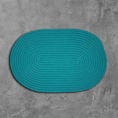 Rainsburg Green Outdoor Area Rug Rug Size: Oval 10 x 13