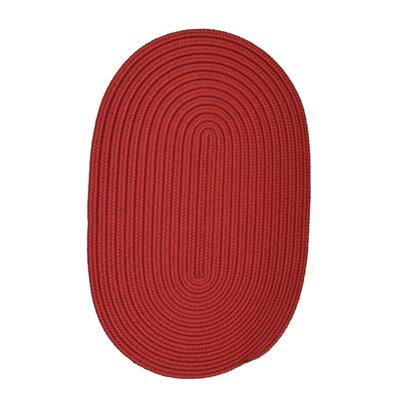 Rainsburg Sangria Indoor/Outdoor Rug Rug Size: Oval 4 x 6