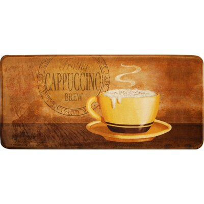 Cindy Cappuccino Kitchen Mat