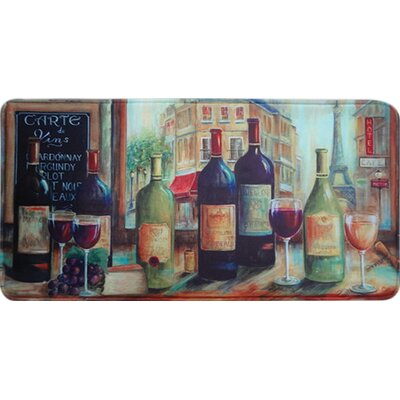 Quarryville Bistro Wine Tasting Kitchen Mat