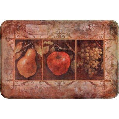 Quarryville Tuscan Fruit Kitchen Mat