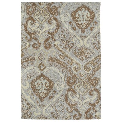 Tiffany Brown Area Rug Rug Size: Rectangle 2' x 3'