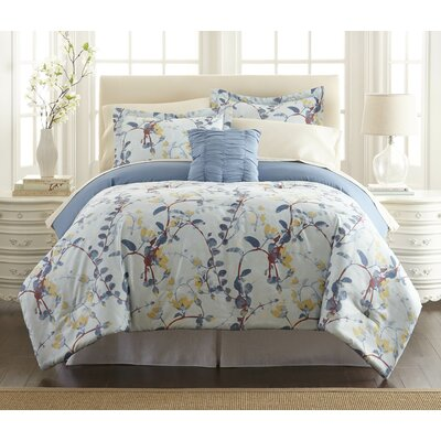 Shenandoah 6 and 8 Piece Comforter Set Size: Twin
