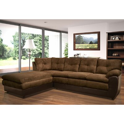 Andover Mills ANDO1566 25803991 Brewster Left Hand Facing Sectional Upholstery