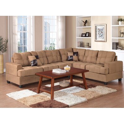 Andover Mills ANDO1950 26427100 Birchview Reversible Chaise Sectional Upholstery