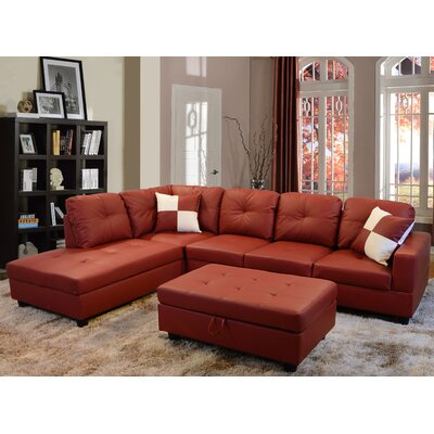 Andover Mills ANDO2369 27052767 Russ Sectional Upholstery