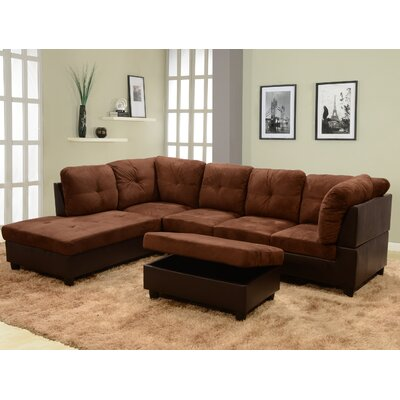 Andover Mills ANDO2370 27052775 Russ Sectional Upholstery
