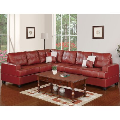 Andover Mills ANDO3850 30346867 Dalton Reversible Chaise Sectional Upholstery
