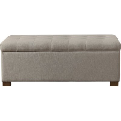 Andover Mills Ravenwood Upholstered Storage Bench