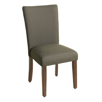 Rebersburg Parsons Chair Upholstery: Everly Truffle