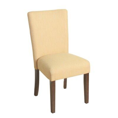 Rebersburg Parsons Chair Upholstery: Glenbrier Daisy