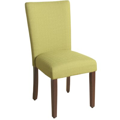Rebersburg Parsons Chair Upholstery: Everly Cilantro