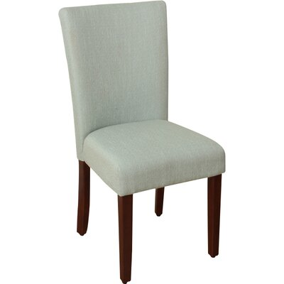 Rebersburg Parsons Chair Upholstery: Glenbrier Spa