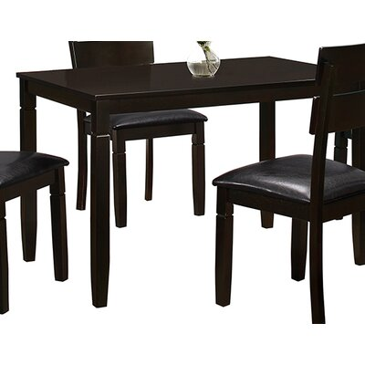 Winnetka Espresso Wood Dining Table