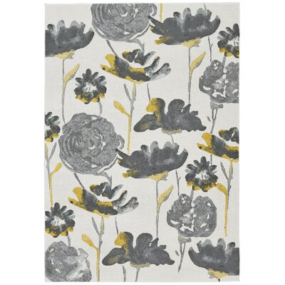 Royalwood Gray Pond Area Rug Rug Size: Rectangle 5 x 8