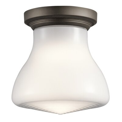 Springport 1-Light Flush Mount Finish: Olde Bronze
