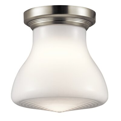 Springport 1-Light Flush Mount Finish: Brushed Nickel