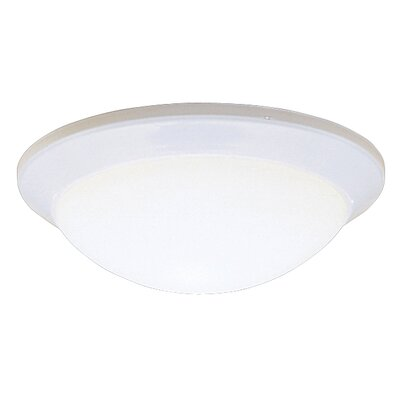 Sharonville LED 1-Light Flush Mount Finish: White