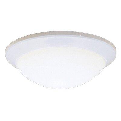 Sharonville LED 1-Light Flush Mount Finish: White