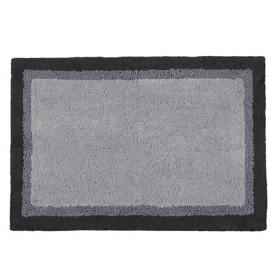 Stephentown Bath Rug Size: 20 x 30, Color: Grey