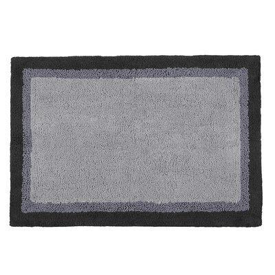 Stephentown Bath Rug Color: Grey, Size: 20 x 30