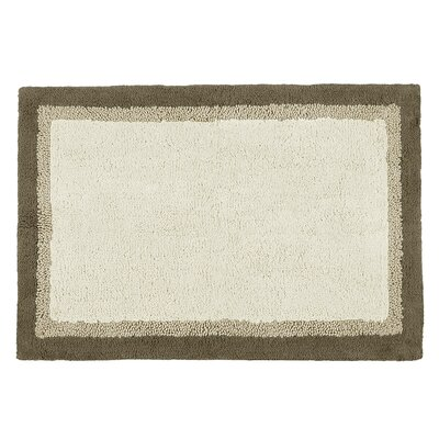 Stephentown Bath Rug Size: 27 x 45, Color: Ivory