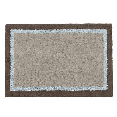 Stephentown Bath Rug Size: 27 x 45, Color: Brown