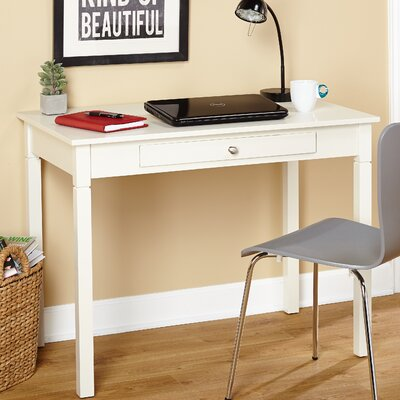 Reynoldsville Writing Desk Finish: Off-White