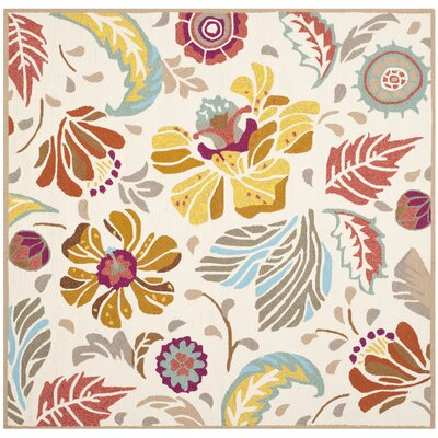Doyle Indoor/Outdoor Area Rug Rug Size: Square 6'