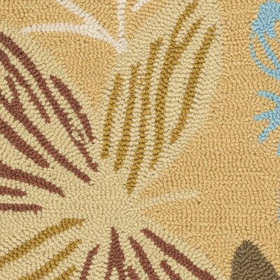 Doyle Taupe Indoor/Outdoor Area Rug Rug Size: Runner 2 x 6