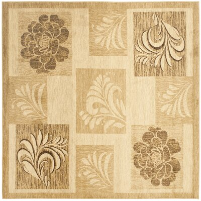 Southampton Ivory Squared Area Rug Rug Size: Square 67