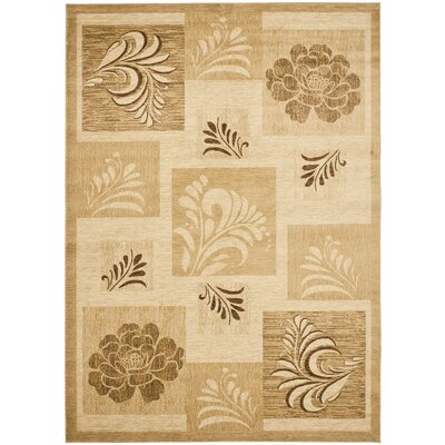 Southampton Ivory Squared Area Rug Rug Size: Rectangle 67 x 96
