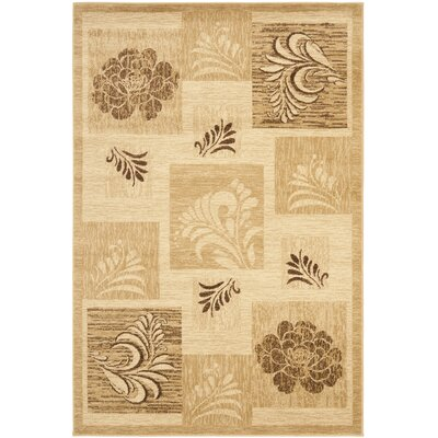 Southampton Ivory Squared Area Rug Rug Size: Rectangle 33 x 53