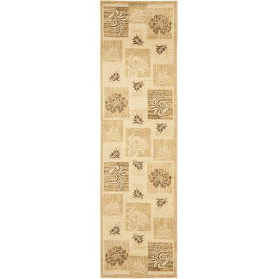 Southampton Ivory Squared Area Rug Rug Size: Runner 23 x 8