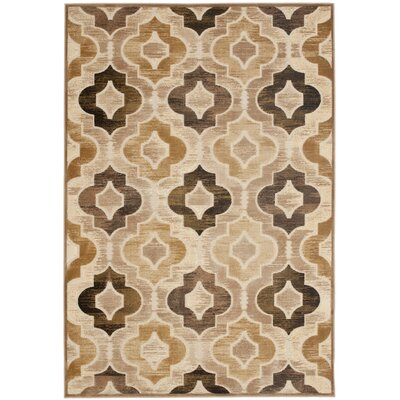 Gordon Brown Area Rug Rug Size: 76 x 106