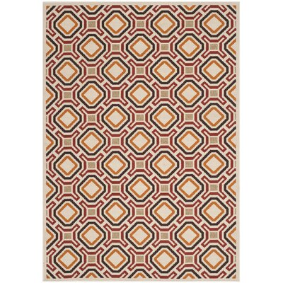 Tierney Outdoor Rug Rug Size: Rectangle 53 x 77