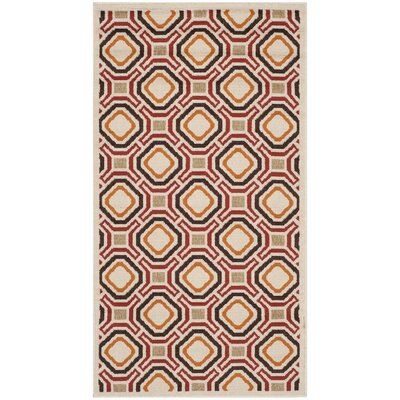 Tierney Outdoor Rug Rug Size: Rectangle 27 x 5