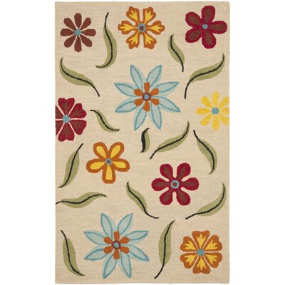Ross Beige Area Rug Rug Size: Rectangle 4 x 6