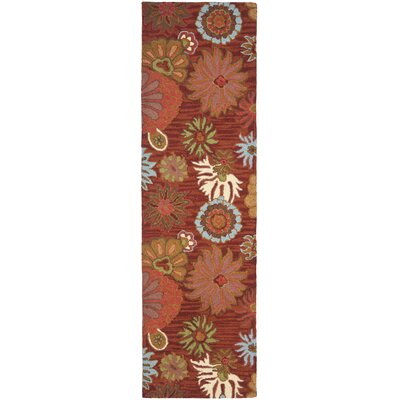 Hutsonville Red / Multi Contemporary Rug Rug Size: Runner 23 x 8