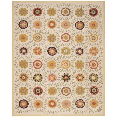 Ross Ivory Area Rug Rug Size: Rectangle 8 x 10